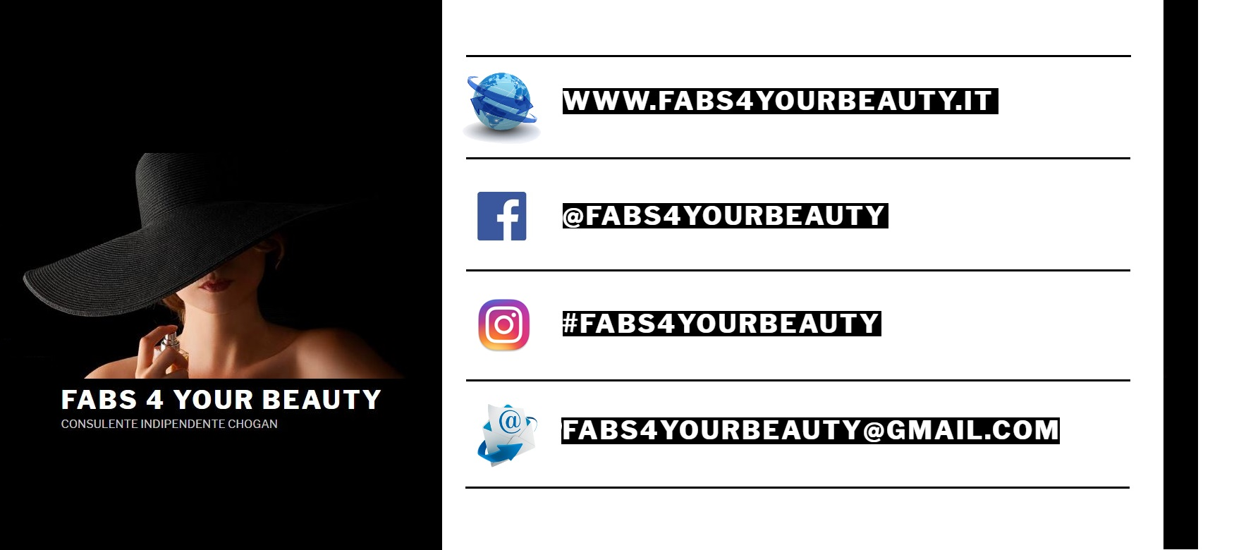 Contatti FABS 4 YOUR BEAUTY